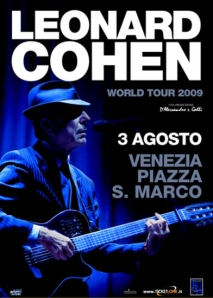 Leonard Cohen World Tour 2009