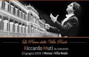 Riccardo Muti in Concerto a Monza 2009