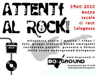 Un evento dedicato alla musica rock made in bologna , quello che l
